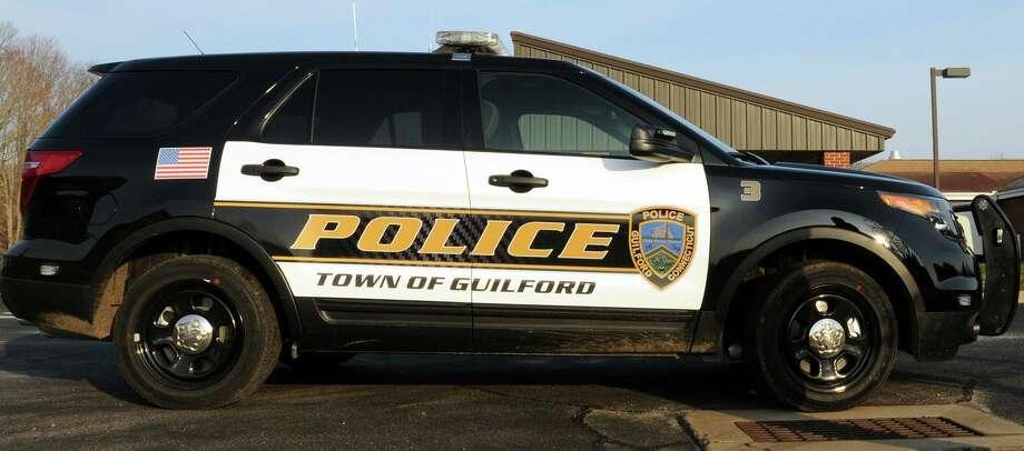 Guilford Police Department vehicle Photo: File Photo / New Haven Register / ©Peter Hvizdak /  New Haven Register