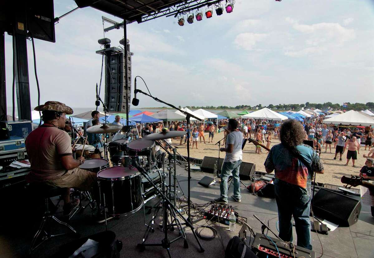 The annual Blues on the Beach concert at Short Beach in Stratford, Conn. on Saturday July 28, 2018.