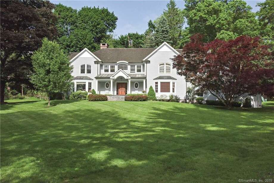 The home at 43 Peaceable Street sold $1,410,000 this month. Photo: Realtor.com / Contributed Photo