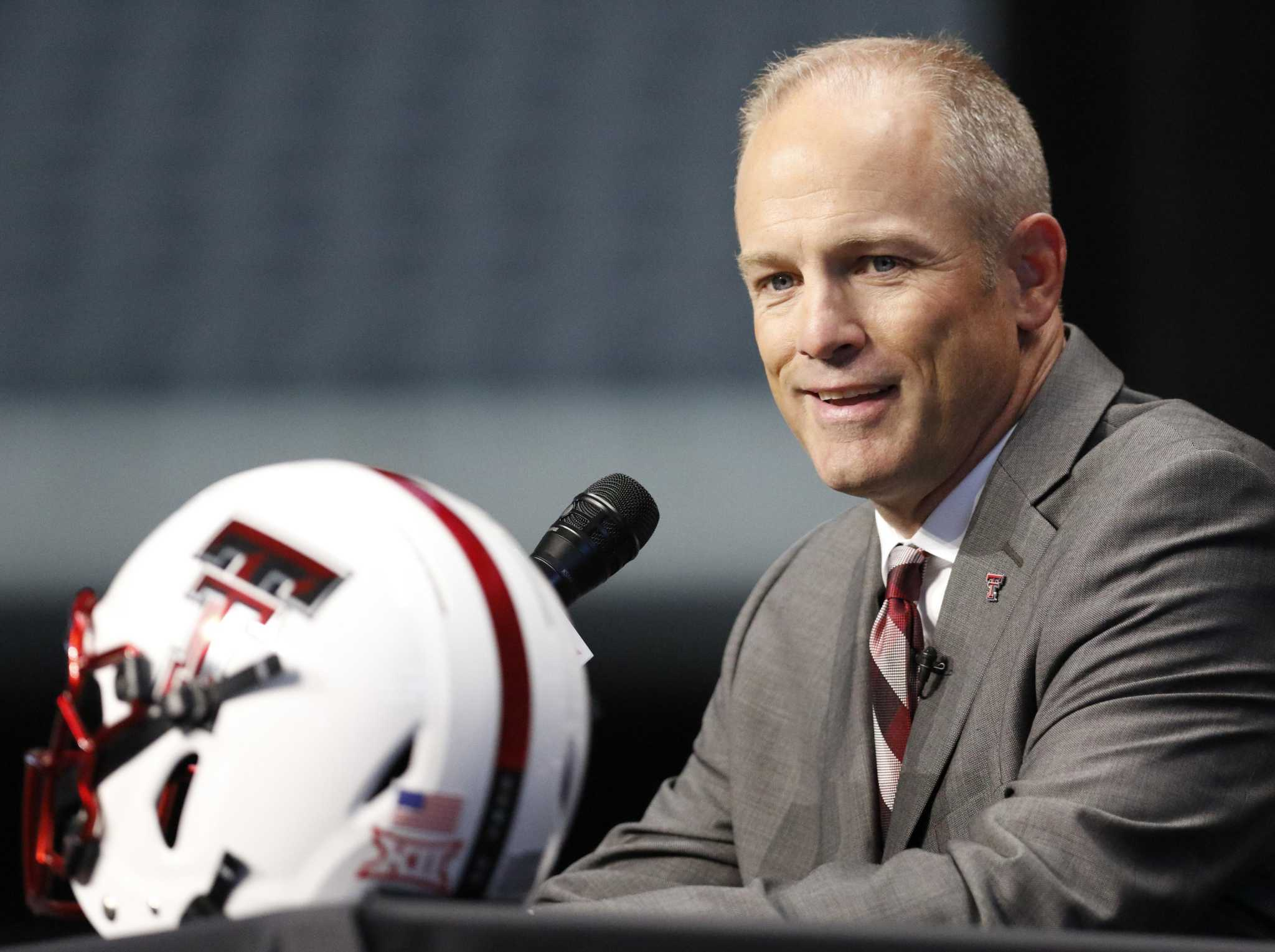New Texas Tech Coach Matt Wells Out To Change Perception Of Program Houstonchronicle Com