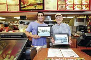 Duchess owners Michael Berkowitz and Sid Fialk mark the restaurant's 50th year in Norwalk, in 2014. Fialk was 85 at the time.