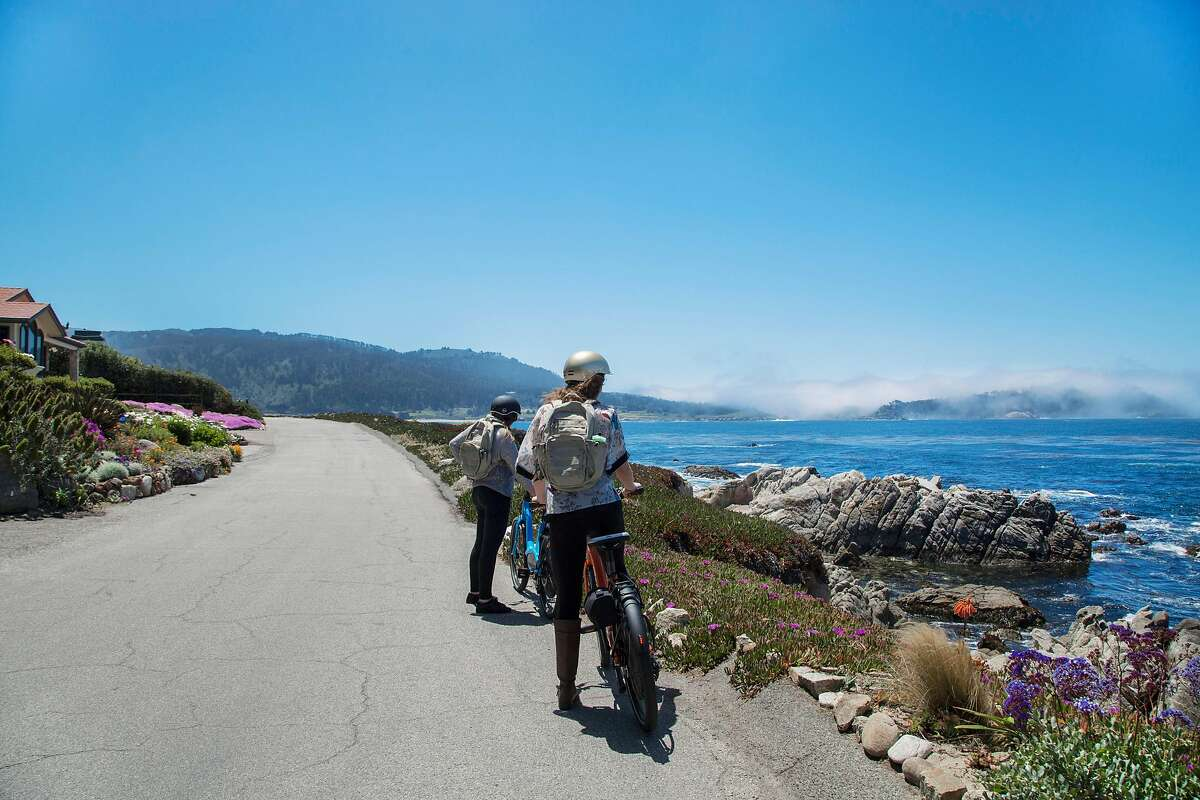 In Carmel-by-the-Sea, Mad Dogs and Englishmen sets up visitors on electric bikes for self-guided tours to Point Lobos State Natural Reserve or along Scenic Road.