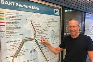 Bart Wright – yes, that's really his name – has been the designer of BART's maps for the last 20 years. He's the subject of BART's latest podcast episode.