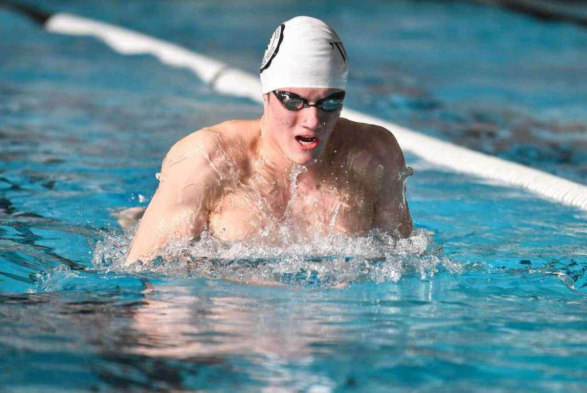 Marcus Hodgson, a rising Brunswick School senior, earned NISCA High School all-America swimming honors.