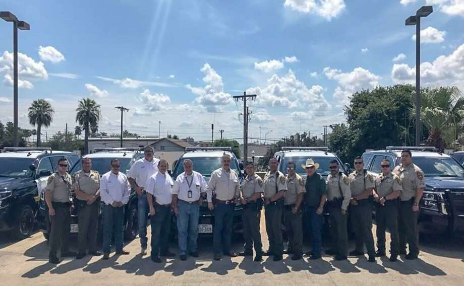 The Webb County Sheriff's Office recently announced that they added nine state-of-the-art Chevy Tahoes to its fleet. These new units will be used to patrol the county. Photo: Courtesy Photo /Webb County Sheriff's Office