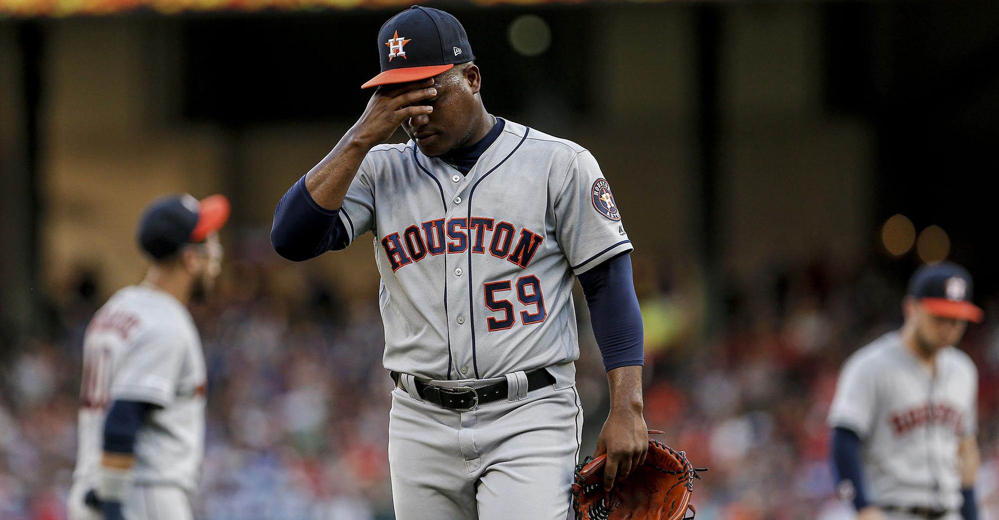 Astros insider: Framber Valdez runs out of time