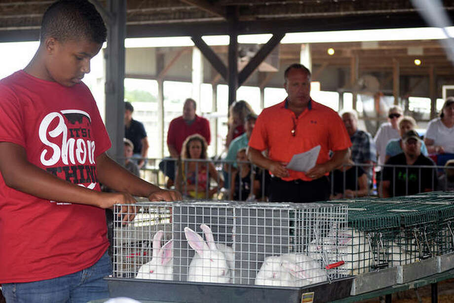 Photos from the 4-H Auction Monday at the Morgan County Fairgrounds. Photo: Samantha McDaniel-Ogletree   Journal-Courier