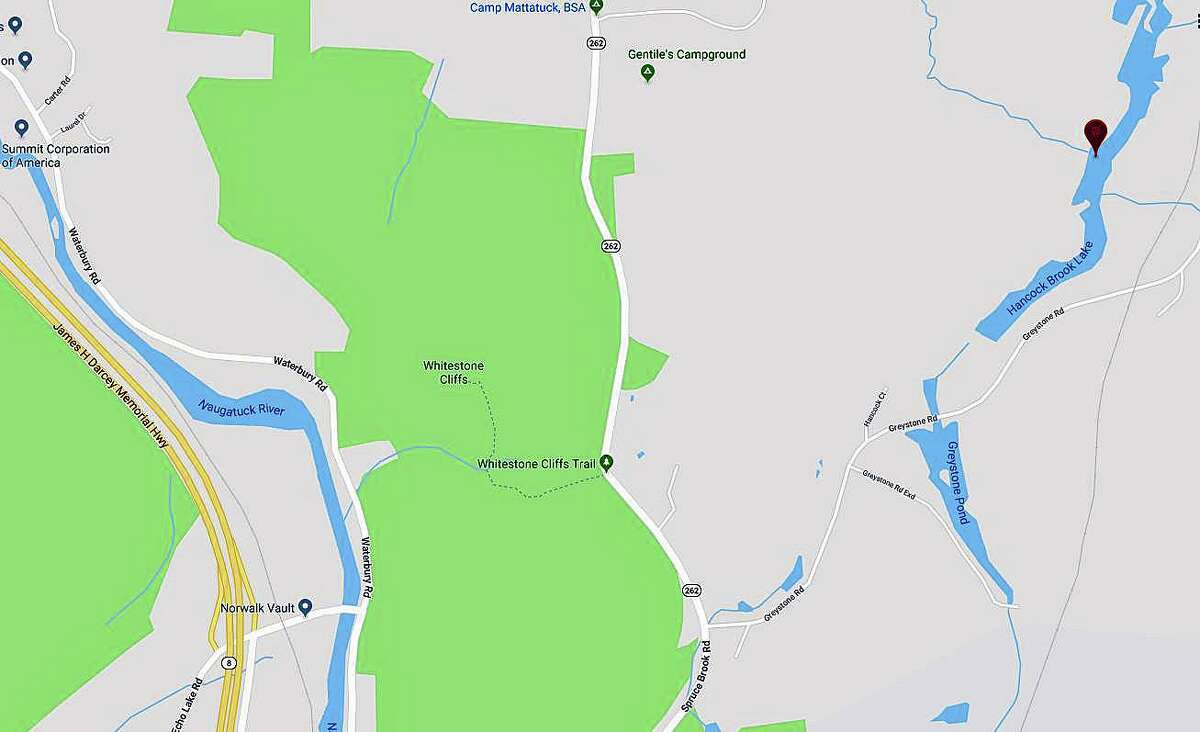 Emergency crews found the body of a man believed to be a fisherman following a search at Hancock Brook Lake Monday evening on July 15, 2019.