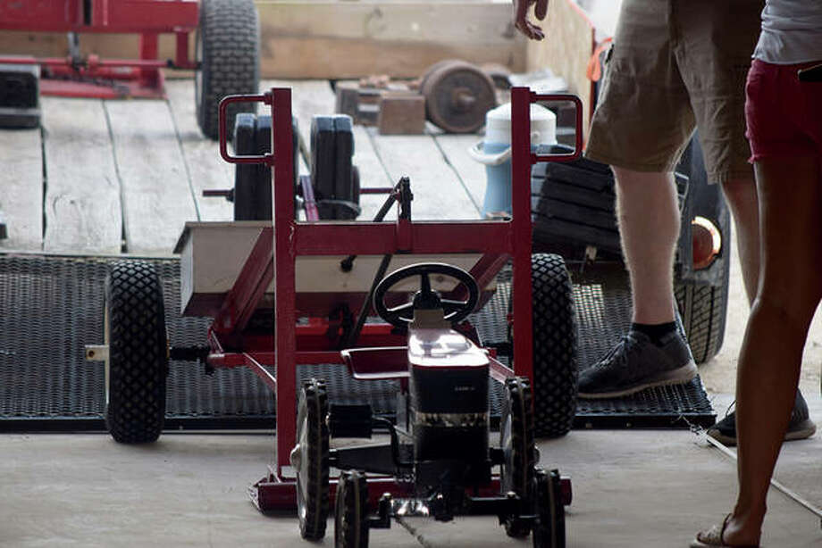Sights from the Pedal Tractor competition Sunday at the Morgan County Fair. Photo: Samantha McDaniel-Ogletree | Journal-Courier