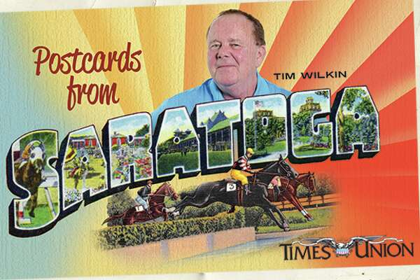 Postcards from Saratoga newsletter promo