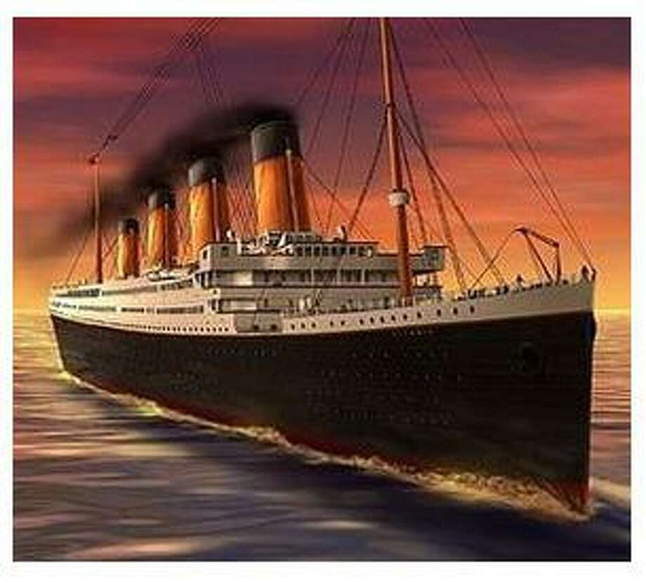 The Titanic will be the focus of a talk at Plumb Memorial Library on July 23. Photo: Contributed Photo / Connecticut Post