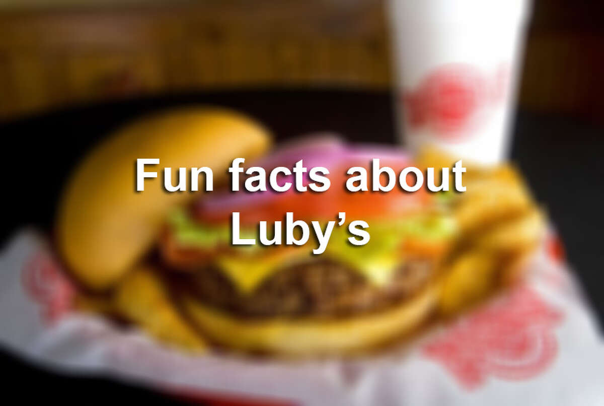 >> Click through the following gallery to see fun facts about Luby's.