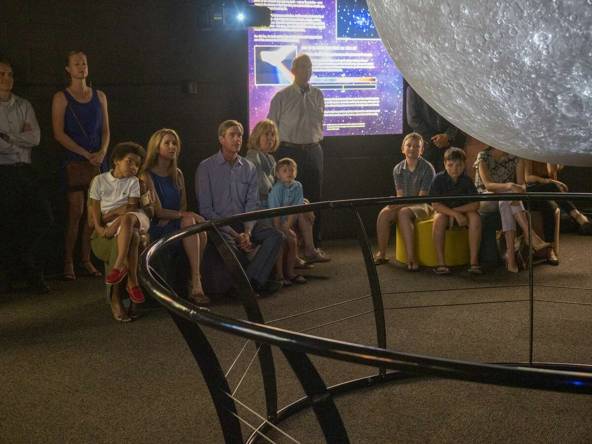 FILE PHOTO:Families can now reserve a time for a private dome show and be able to interact with Cimarex Science on a Sphere, according to a press release from Museum of the Southwest.