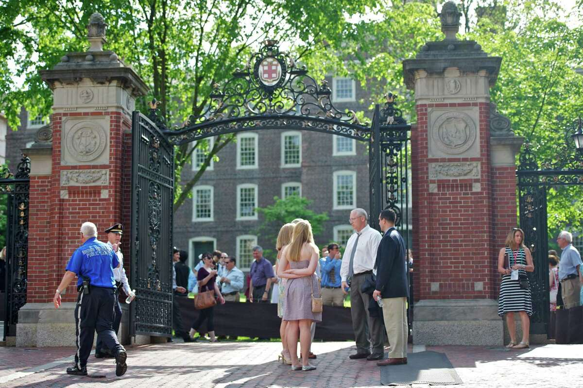 Van Wickle Gates of Brown University in Providence R.I.