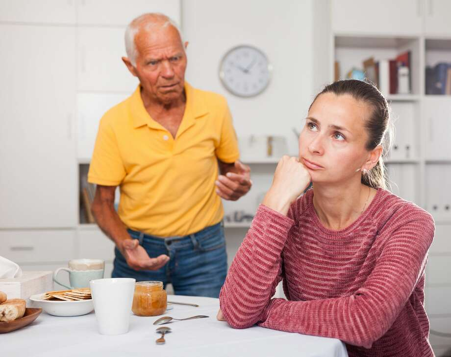 A daughter doesn't understand why her father has a will that leaves most of his money to his partner. Photo: JackF/Getty Images/iStockphoto
