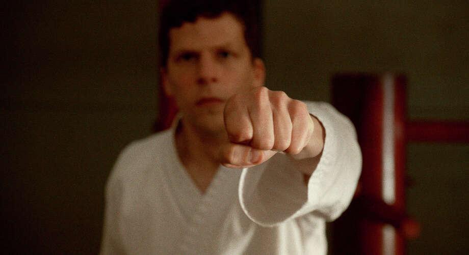 "Jesse Eisenberg stars in writer-director Riley Stearns's ""The Art of Self-Defense."" Photo: Bleecker Street / Bleecker Street"