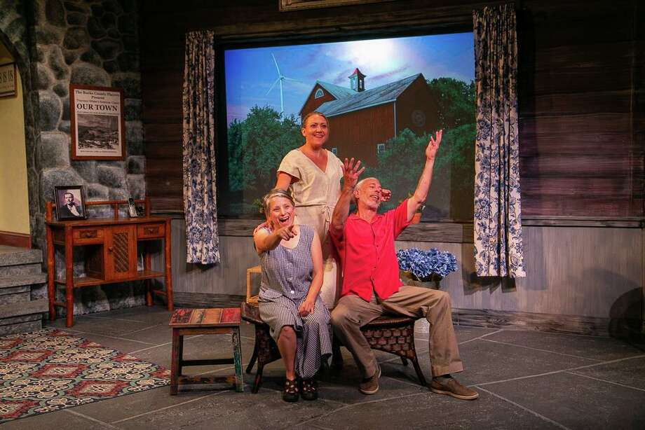 Vanya and Sonia and Masha and Spike runs through Aug. 3 at TheatreWorks New Milford, 5 Brookside Avenue, New Milford. Tickets are $20-$25. For more information, visit theatreworks.us. Photo: Richard Pettibone / Contributed Photo
