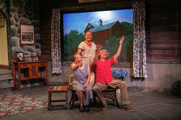 Vanya and Sonia and Masha and Spike runs through Aug. 3 at TheatreWorks New Milford, 5 Brookside Avenue, New Milford. Tickets are $20-$25. For more information, visit theatreworks.us.
