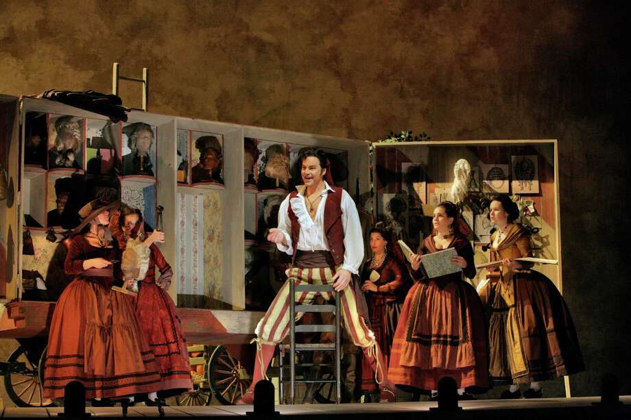 Il Barbiere di Siviglia will be screened on July 21 at 3 p.m. at the Ridgefield Playhouse, 80 East Ridge Road, Ridgefield. Tickets are $15-$25. For more information, visit ridgefieldplayhouse.org. Photo: Ridgefield Playhouse / Contributed Photo / © 2006 ken howard • all rights reserved