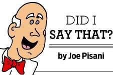 Joe Pisani Web sig