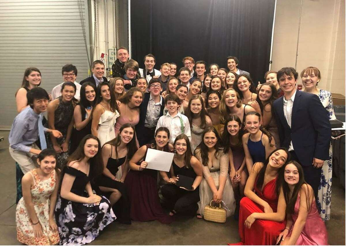 Wilton students received Halo theatre awards for their productions of Witness for the Prosecution and Newsies.
