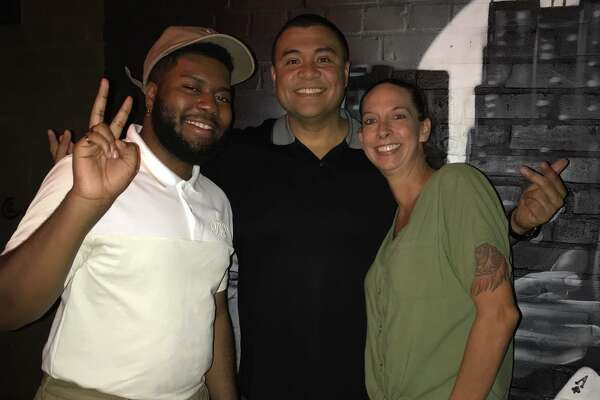 "Smoke Owner Adrian Martinez said the Khalid showed up with a group of friends around 7 p.m., ordered the Pit Master Feast and signed himself up for karaoke under the name ""Roger."""