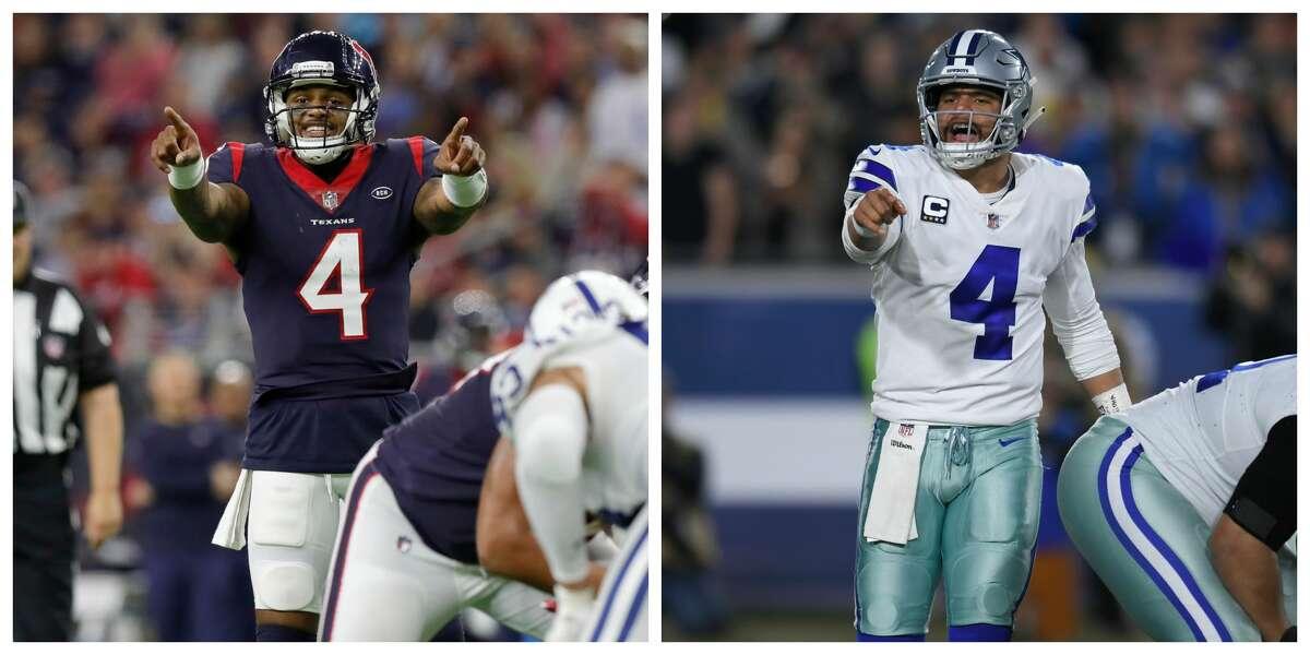 MADDEN 20 RATINGS QUARTERBACK Texans: Deshaun Watson 82 Cowboys: Dak Prescott 81