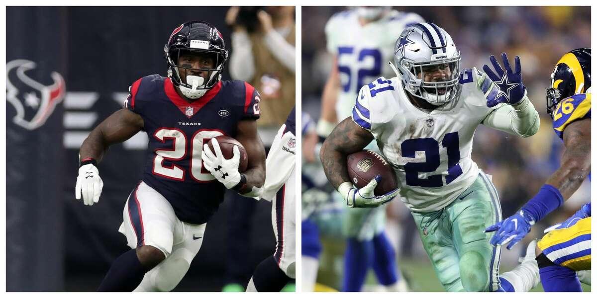 MADDEN 20 RATINGS RUNNING BACK Texans: Lamar Miller 85 Cowboys: Ezekiel Elliott 94