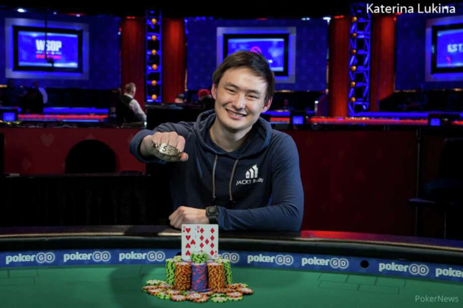 Stephen Song in Las Vegas at the World Series of Poker Event No. 28 at the Rio. Photo: Katerina Lukina / Contributed Photo