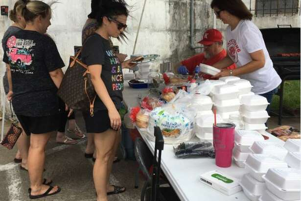 """The July 15 K-Train fundraiser for Erica Plummer Nowell of Katy """"Buy a Burger for a Tiger"""" at MKT Distillery, 5373 1st St. in Katy, raised $7,000, said co-organizer Laura Evans. """"It was an amazing outpouring of care and generosity from the community!"""" said Evans. Nowell is fighting the return of cancer. She's been cancer-free for 13 years. Contributions for the mother of three girls ages 7 months to 6 years old also are being accepted at www.gofundme.com/erica-is-stronger-than-her-sarcoma. Her husband, Charles Nowell is Katy High School boys freshman basketball coach."""