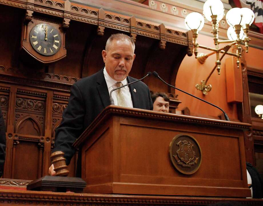 Speaker of the House Joe Aresimowicz, D-Berlin Photo: Jessica Hill / Associated Press / Copyright 2019 The Associated Press. All rights reserved
