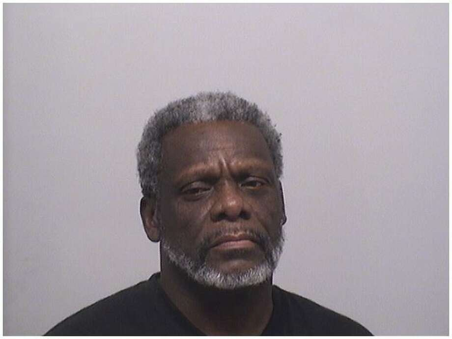 Nathan Hall, 54, was charged with trying to illegally withdraw $3,600 from a Stamford bank by using the name of another man. He is also wanted by federal marshalls. Photo: Stamford Police / Contributed