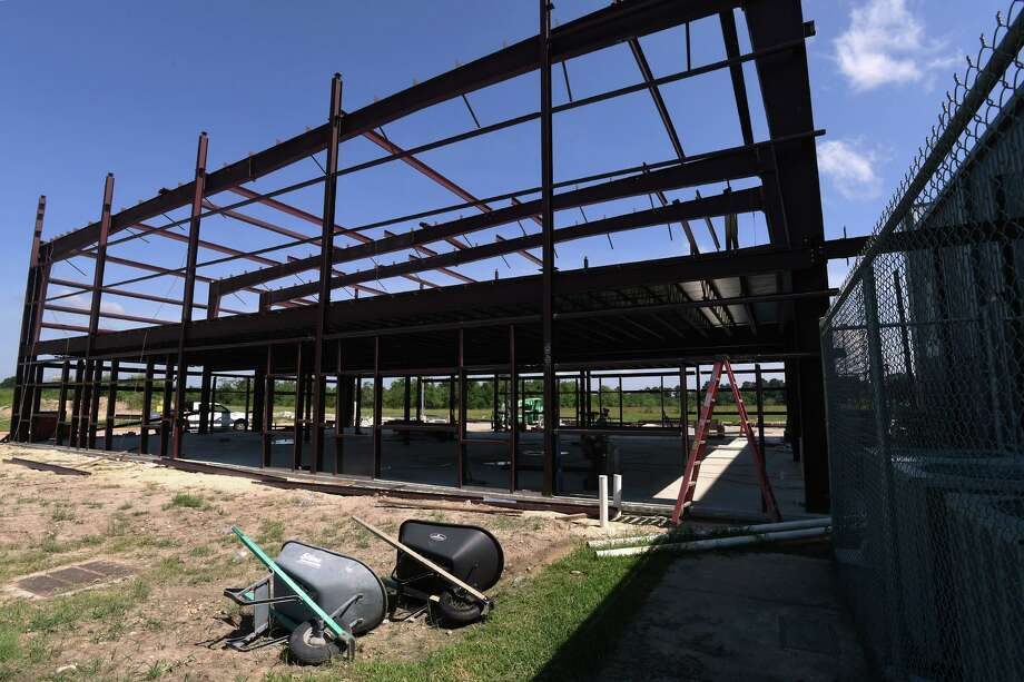 Construction is underway for a children's center at Beaumont's First Baptist on Major Drive. Photo taken Friday, 7/12/19 Photo: Guiseppe Barranco/The Enterprise, Photo Editor / Guiseppe Barranco ©