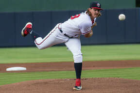 Edwardsville High School graduate Trey Riley, a fifth-round draft choice of the Atlanta Braves i 2018, is pitching this season for the Rome Braves, Atlanta's Class A affiliate in the South Atlantic. Riley is currently on the seven-day injured list.