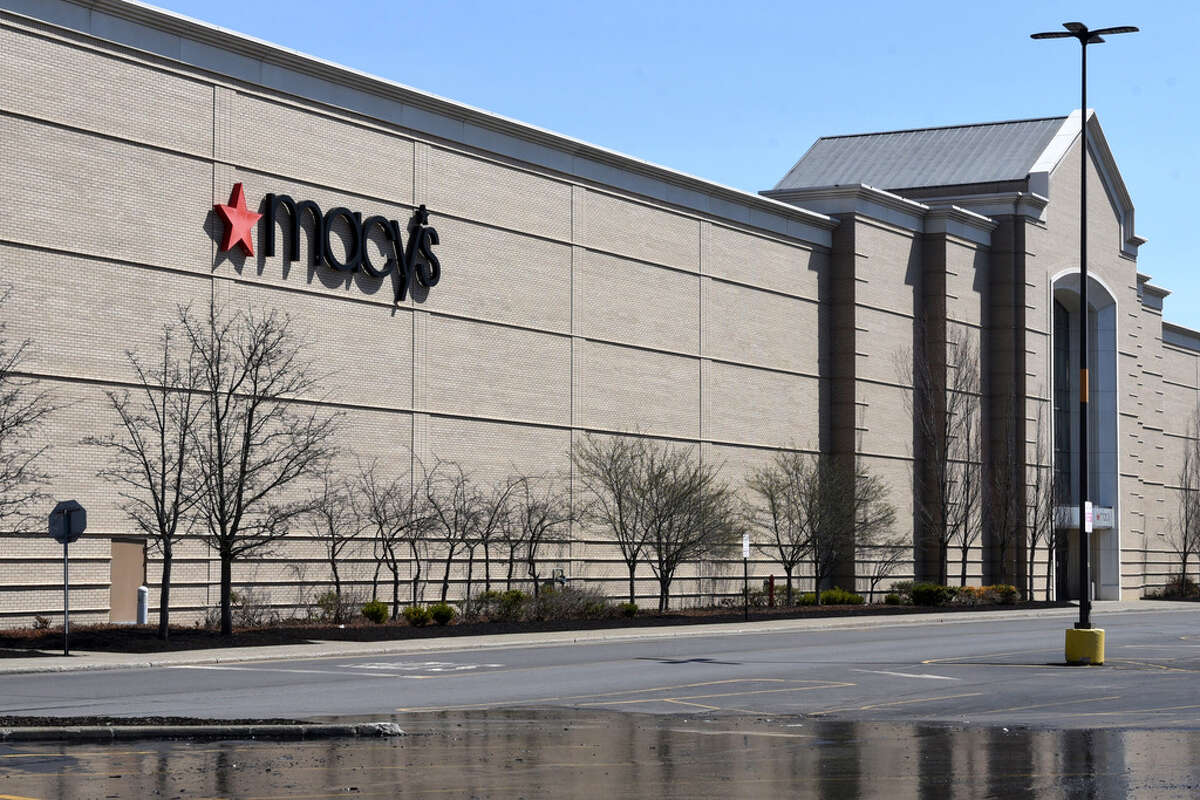 Exterior of Macy's at Crossgates Mall. (Will Waldron/Times Union)