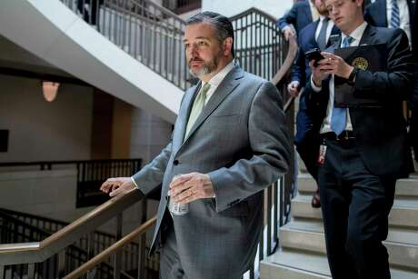 Sen. Ted Cruz arrives for a closed-door meeting for senators on election security on Capitol Hill in Washington earlier this month. A reader is pleasantly surprised at Cruz's statements toward the Trump administration.