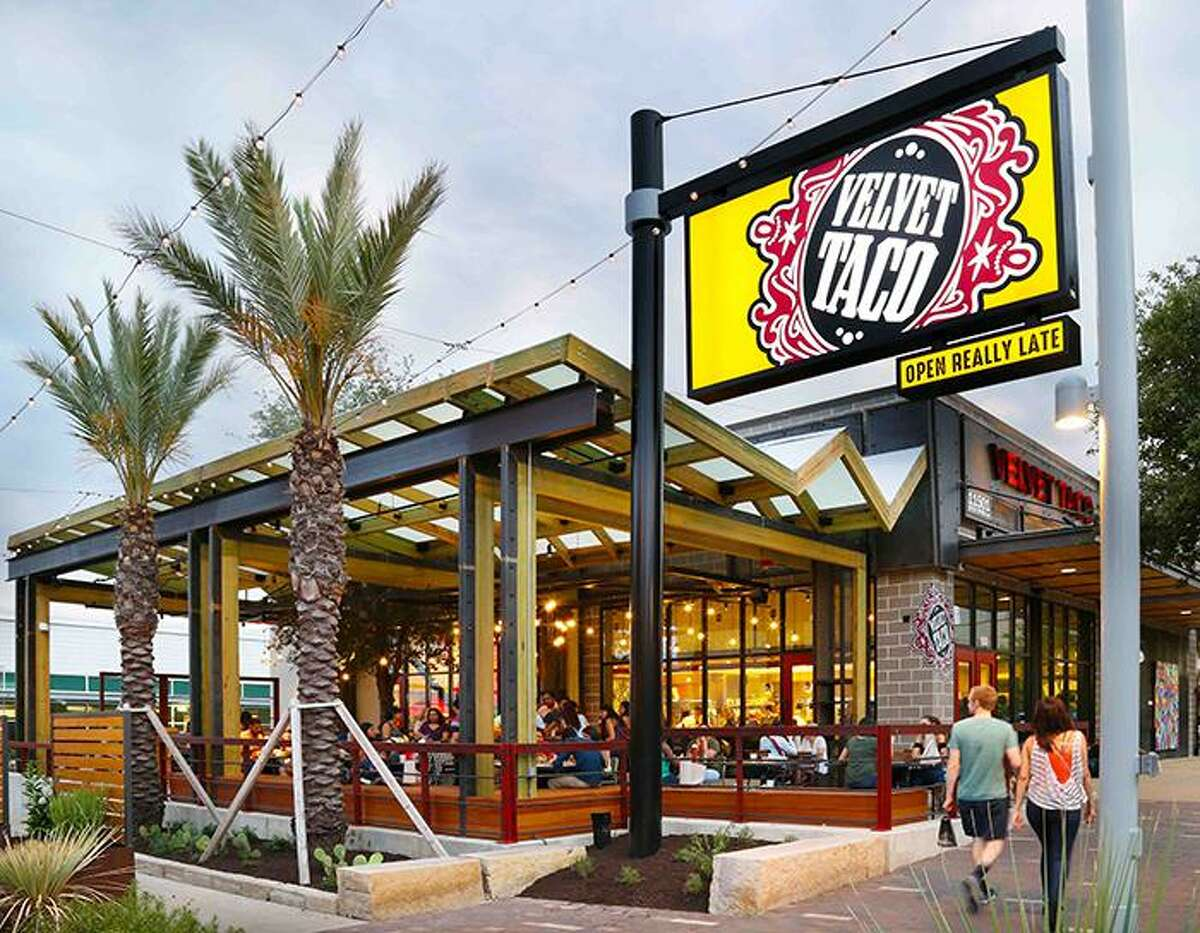 Velvet Taco, a Dallas-based restaurant, will open near the Pearl inside the former Viva Tacoland in early 2020.