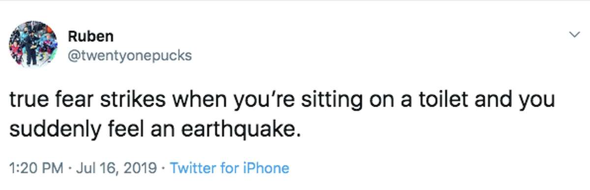 A magnitude 4.3 earthquake was widely felt around the Bay Area. It didn't take long for hilarious Twitter reactions to hit the interwebs.