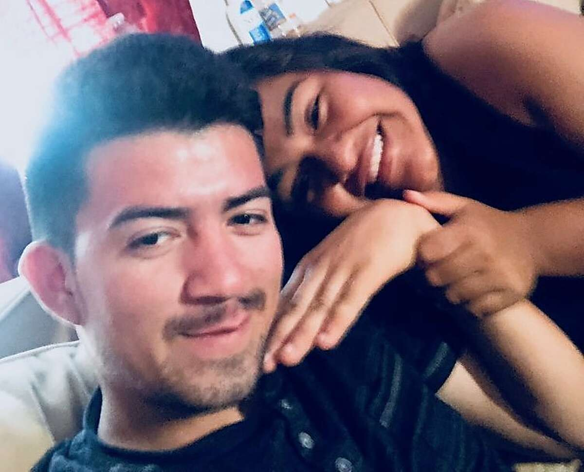 Jose Armando Escobar-Lopez, pictured with girlfriend Krisia Mendoza, is slated for deportation after a Daly City police officer reported him to ICE during a traffic stop, according to his attorney. Escobar-Lopez is an undocumented immigrant from El Salvador.