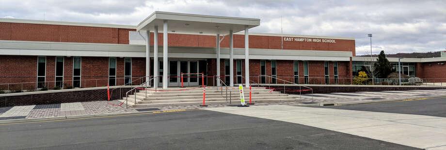 East Hampton High School in East Hampton, Connecticut as seen on March 3, 2018. Photo: Derek Turner / Hearst Connecticut Media