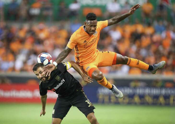Los Angeles FC and defender Steven Beitashour upended the Dynamo and forward Romell Quioto at BBVA on Friday. Houston now goes on the road looking for a win.