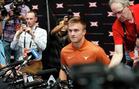 Texas quarterback Sam Ehlinger was the center of attention for the Longhorns at Big 12 media day, but he will need plenty of help if his team will make it back to Arlington for conference title game.
