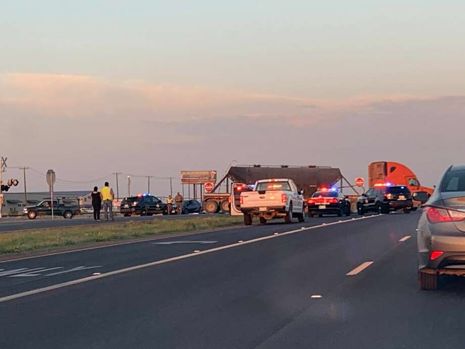 A motorcyclist was critically injured after an accident this morning on Business 20, according to Sergeant Oscar Villarreal with the Department of Public Safety. Photo:  Micah Dawkins