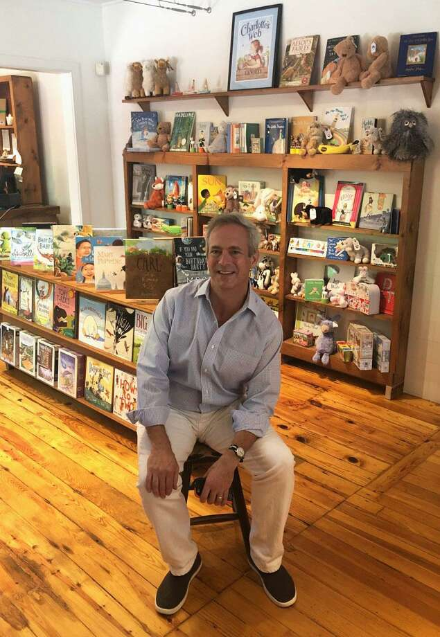 House of Books in Kent is under new ownership. Peter Vaughn, above, is the new manager of the shop housed temporarily at 4 North Main St. while renovations are made at the store's permanent site at 10 North Main St. Photo: Deborah Rose / Hearst Connecticut Media / The News-Times  / Spectrum