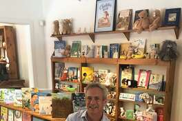 House of Books in Kent is under new ownership. Peter Vaughn, above, is the new manager of the shop housed temporarily at 4 North Main St. while renovations are made at the store's permanent site at 10 North Main St.