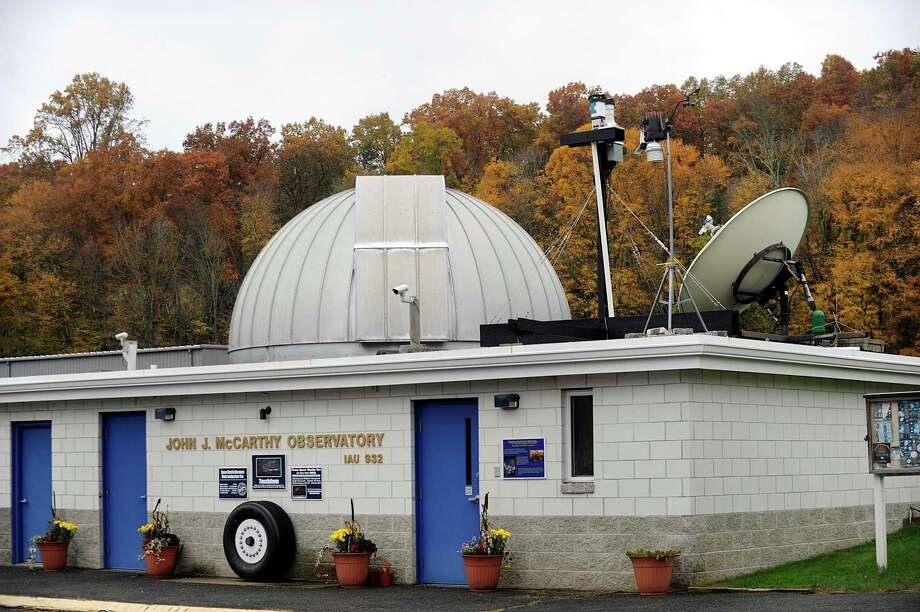 The public is invited to attend a special event Saturday at the John J. McCarthy Observatory in New Milford. Activities from 7 to 9:30 p.m. will celebrate the 50th anniversary of the moon landing. Photo: Carol Kaliff / Hearst Connecticut Media / The News-Times