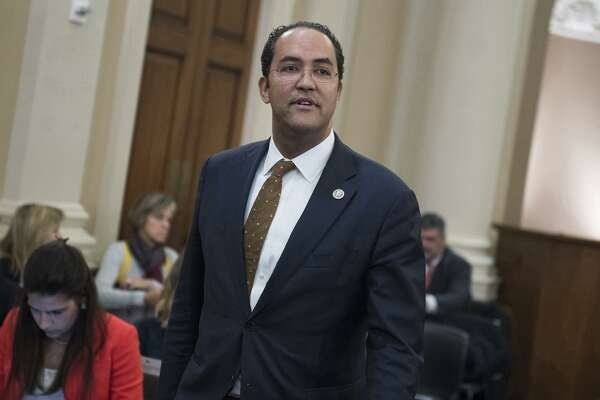 Rep. Will Hurd (R-Texas) attends a House Intelligence Committee hearing in Washington, D.C., on March 20, 2017. (Tom Williams/Congressional Quarterly/Newscom/Zuma Press/TNS)