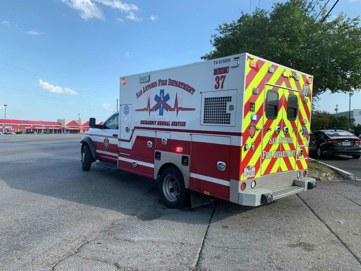 Police believe the four people who were shot at a moving company in the 6900 block of San Pedro Avenue on Tuesday afternoon did not sustain life-threatening injuries.