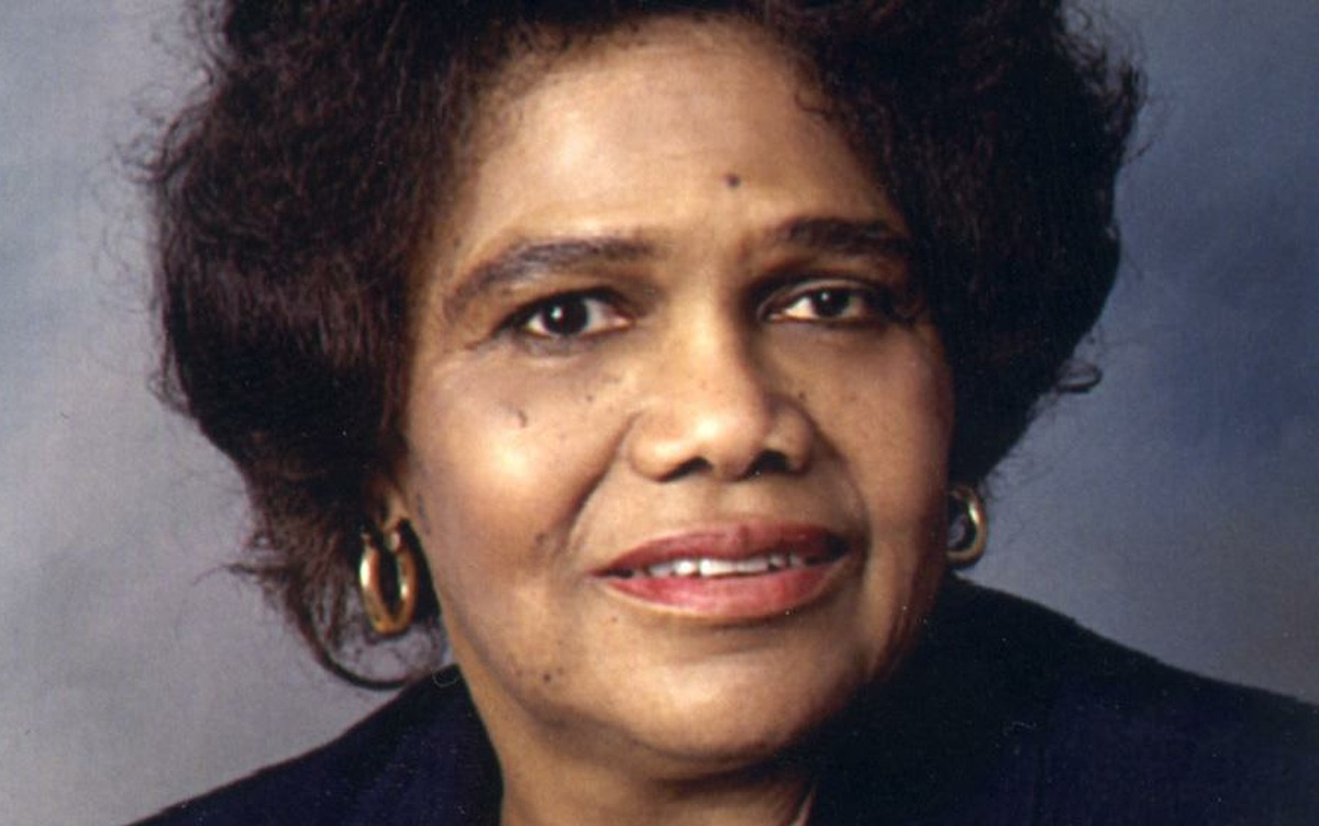 Dr. Edith Irby Jones, a Houston internist, in March 2001. Dr. Jones died Monday, July 15, 2019, in Houston. She was 91 years old.