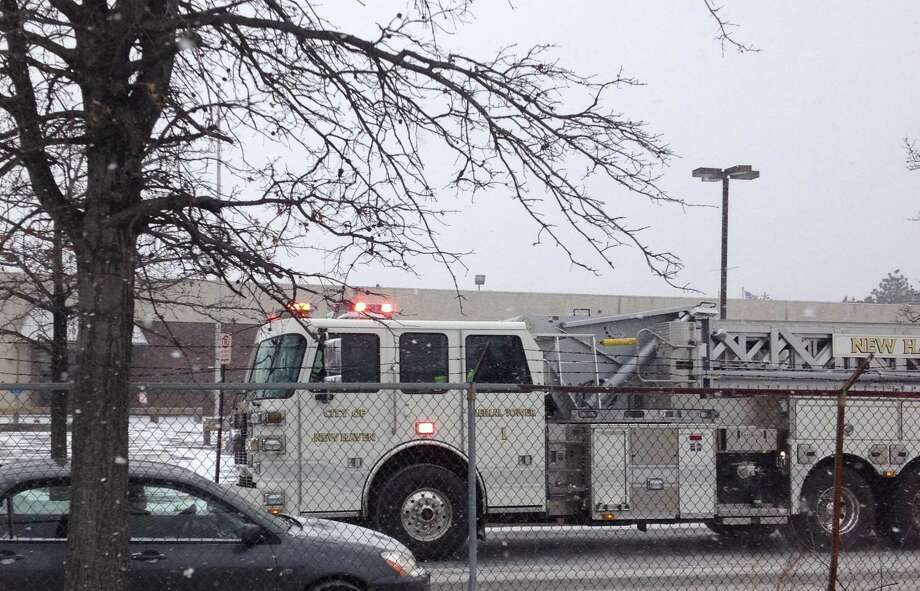 A New Haven fire truck in 2014 Photo: Hearst Connecticut Media File Photo
